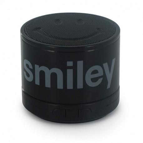 Mini Enceinte Filaire Smiley noir Mobility Lab
