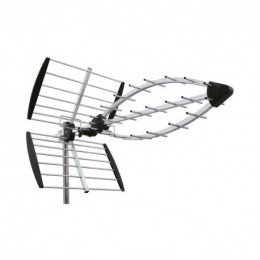 Antenne Uhf Tri Nappes Lte700 Canaux 21 48 Gain 13 5 Db Eb597Lte Wisi